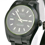 Replica Milgauss Pro Hunter Green Watch 116400GV DLC-PVD