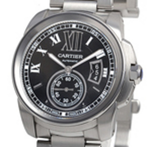 Replica Calibre de Cartier Automatic Steel Watch W7100016