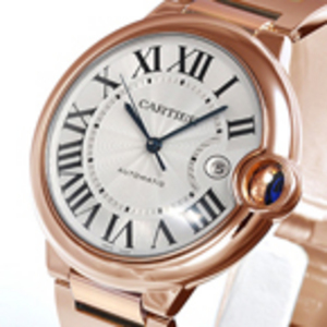 Replica Cartier Ballon Bleu Automatic Gold Watch W69006Z2