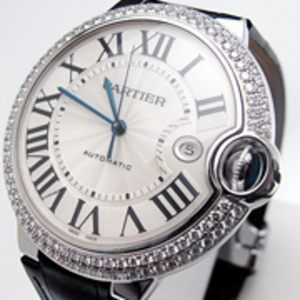 Replica Cartier Ballon Bleu Diamonds Automatic Watch WE900951
