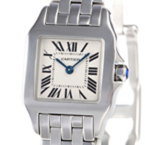 Replica Cartier Santos Demoiselle Steel Ladies Watch W25064Z5