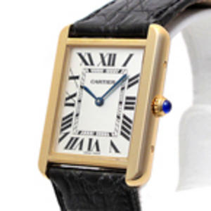 Replica Cartier Tank Solo Gold Replica Mens Watch W1018855