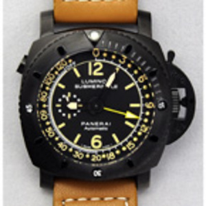 Replica Panerai Luminor 1950 Submersible Depth Gauge PVD Watch