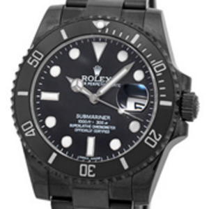 Replica Submariner Oyster Date PVD Watch 116610DLC