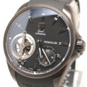 Replica Tag Heuer Grand Carerra Pendulum Concept PVD Watch