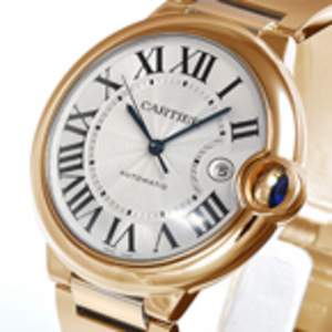 Replica Cartier Ballon Bleu Automatic Gold Watch W69005Z2