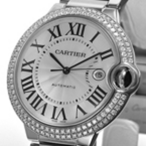 Replica Cartier Ballon Bleu Diamonds Automatic Watch WE9009Z3