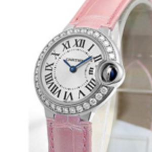 Replica Cartier Ballon Bleu Diamonds Ladies Watch WE900351