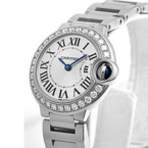 Replica Cartier Ballon Bleu Diamonds Ladies Watch WE9003Z3