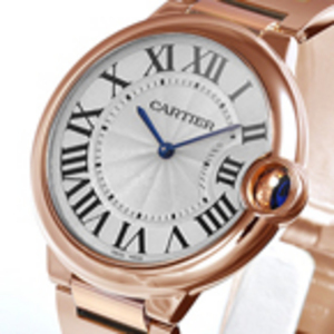 Replica Cartier Ballon Bleu Gold Midsize Watch W69004Z2
