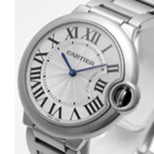 Replica Cartier Ballon Bleu Steel Midsize Watch W69011Z4