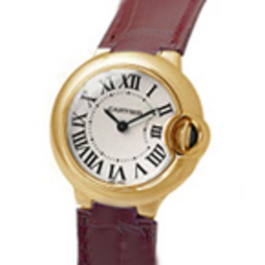 Macasamhail Cartier Balana Bleu Yellow Gold Ladies Watch W690025