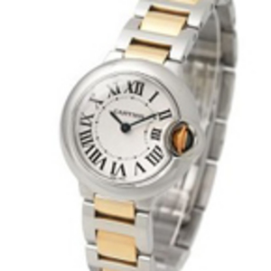 Replica Cartier Ballon Bleu two tone Ladies Watch W69007Z3