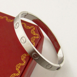 Cartier Love Bracelet White Gold