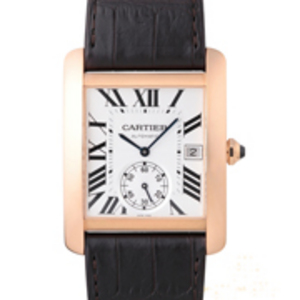 Replica Cartier Tank MC Automatic 18K Gold Watch W5330001
