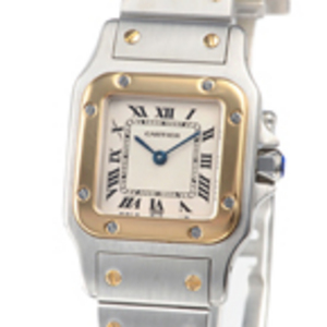 Replica Cartier Santos Galbee Steel Ladies Watches W20012C4