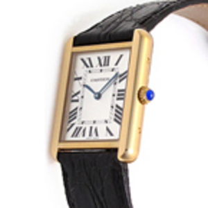 Replica Cartier Tank Solo Guld Ladies Watch W1018755