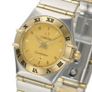 Replica Omega Constellation Two Tone Mini Ladies Watch 1262.10