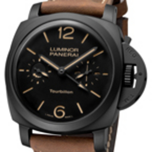 Replica Panerai Luminor 1950 Tourbillon GMT Reloj PAM00396