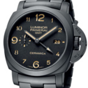 Replica Panerai Luminor Marina 1950 3 Days GMT Ceramica PAM00438