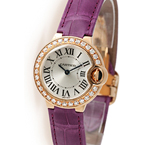 Replica Cartier Ballon Bleu Diamonds Ladies Watch WE900251