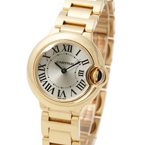 Replica Cartier Ballon Bleu Yellow Gold Ladies Watch W69001Z2